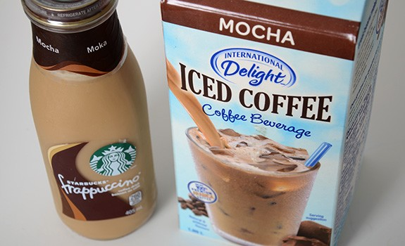 Food Fight International Delight Vs Starbucks Frappuccino Cold Coffee Beverages