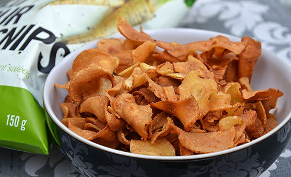 Smoky Parsnip Crisps Recipe — Dishmaps