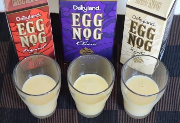 Dairyland egg nogs