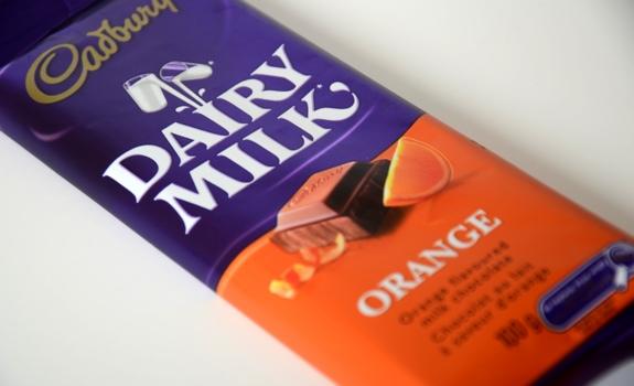 Cadbury Orange Chocolate Cake