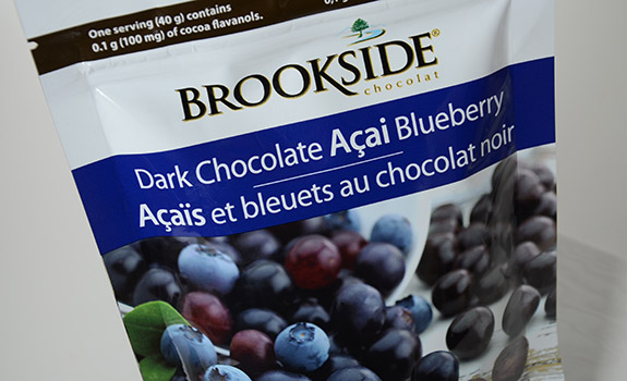 Brookside Dark Chocolate Açai Blueberry candies