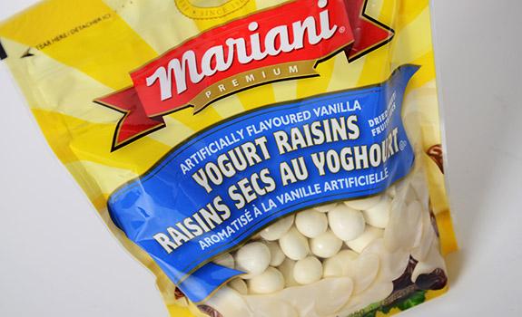 Mariani Vanilla Flavoured Yogurt Raisins