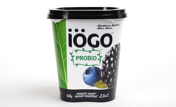 IOGO Probio Blackberry-Blueberry probiotic yogurt